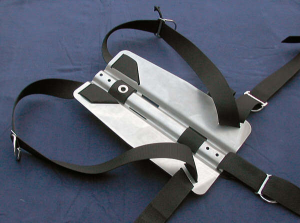 Backplate mit Harness
